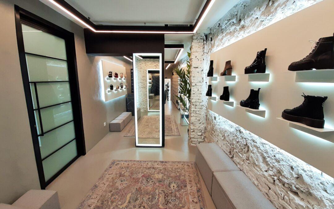 MiM Shoes abre su primera tienda física en España de la mano de GYC Espacios