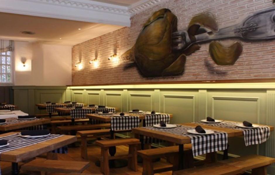 Reforma del local del Restaurante El Pimiento Verde Madrid, GyC Espacios
