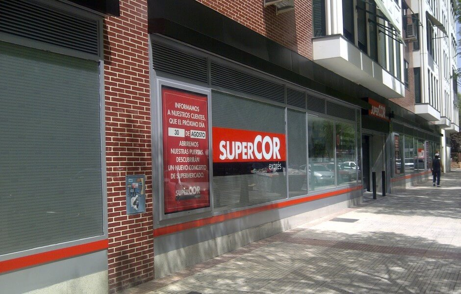 Reforma Local Supercor Express- GyC Espacios