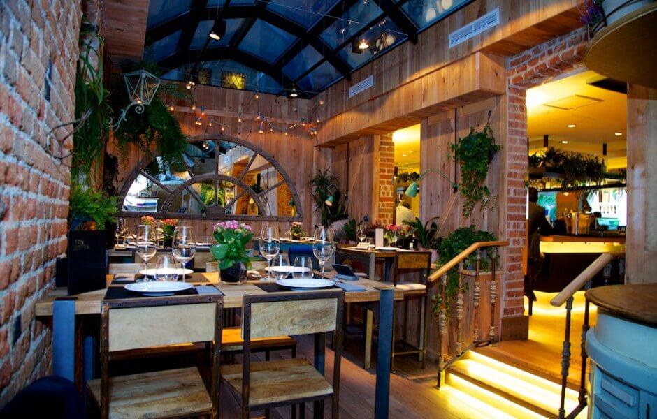 Reforma local Restaurante Ten con Ten Madrid, GyC Espacios