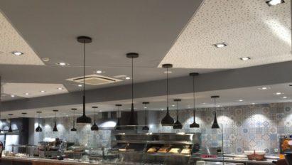 Reforma local Cafetería Abades Granada