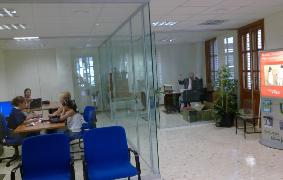 Reforma Local C. Seguros de El Corte Inglés- GyC Espacios