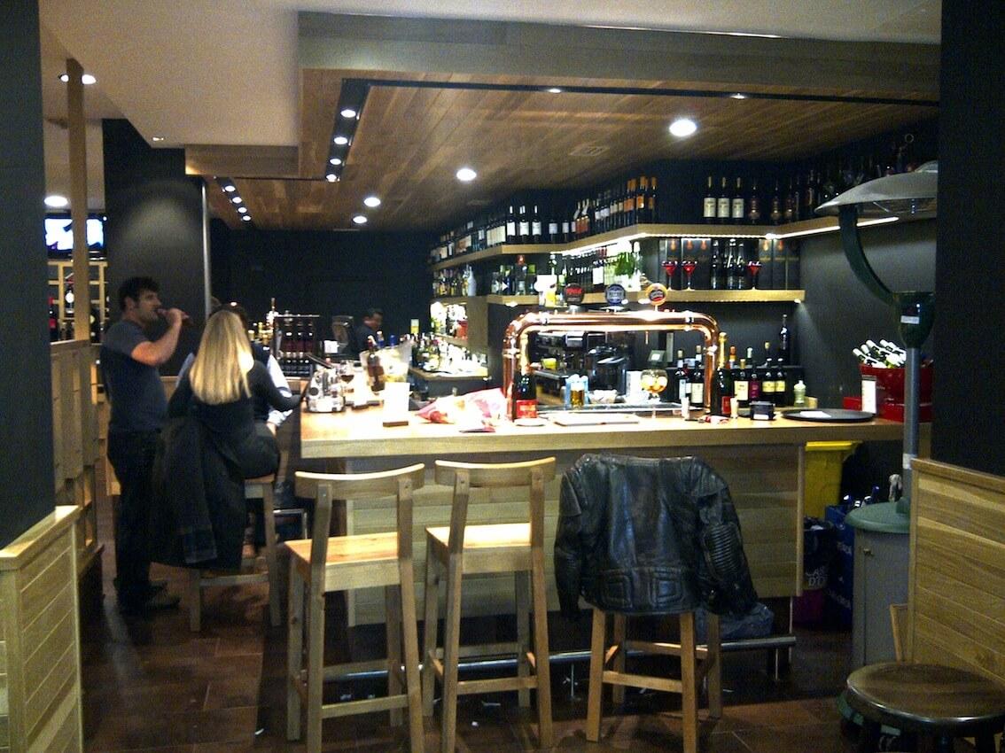 Reforma integral restaurante El Peregrino-GyC Espacios