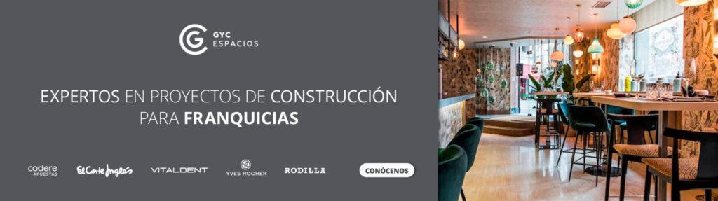 Proyectos de construcción retail para franquicias