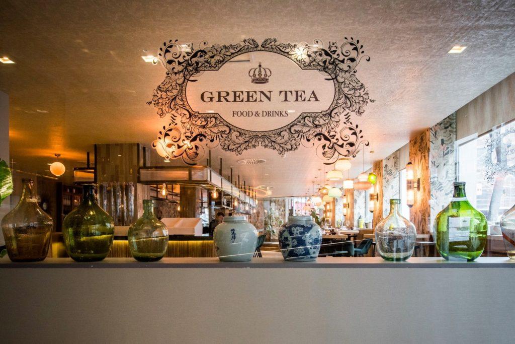 restaurante green tea